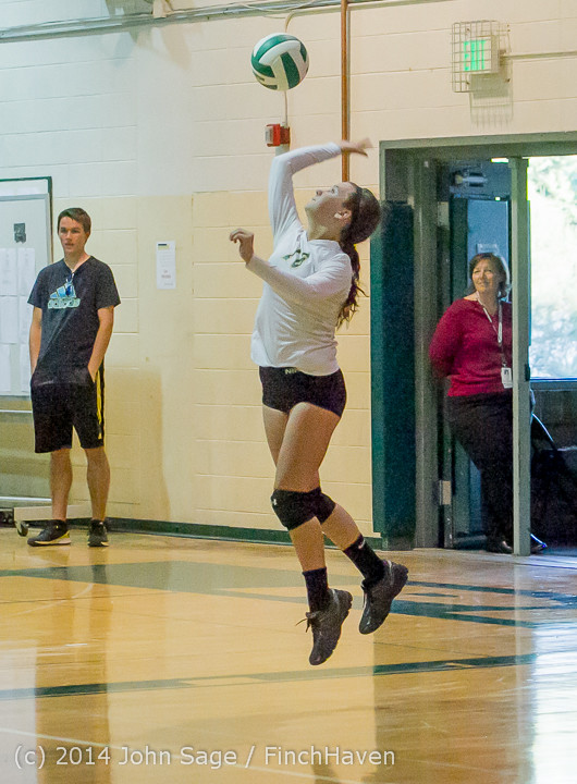 20101 Varsity Volleyball v Eastside-Prep 091014