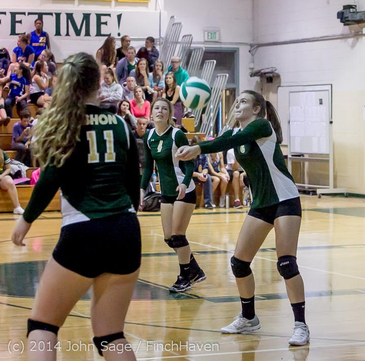 20111 Varsity Volleyball v Eastside-Prep 091014