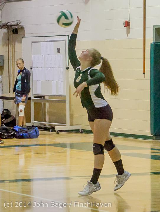 20257 Varsity Volleyball v Eastside-Prep 091014