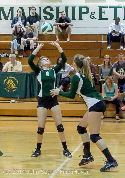 20269 Varsity Volleyball v Eastside-Prep 091014