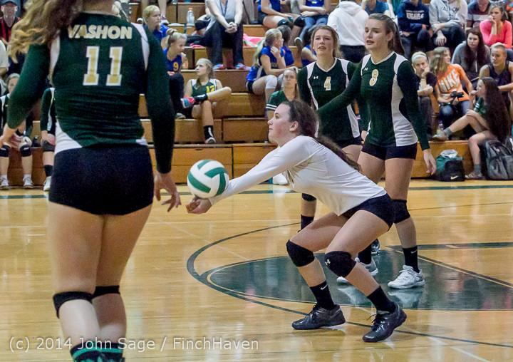 20458 Varsity Volleyball v Eastside-Prep 091014