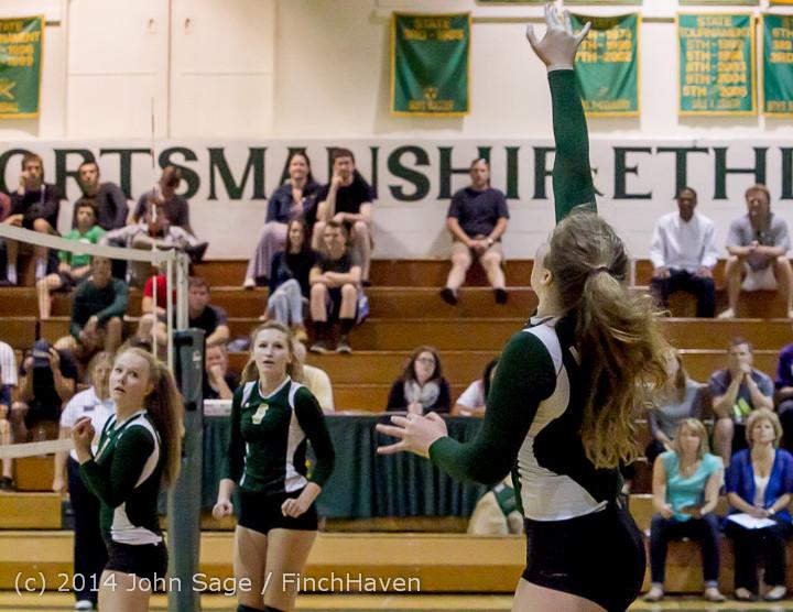 20602 Varsity Volleyball v Eastside-Prep 091014