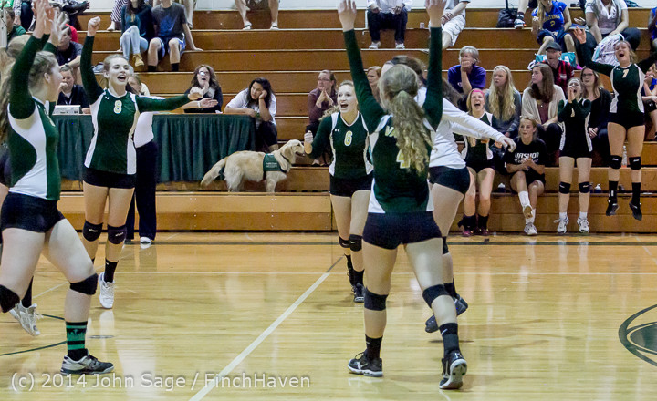 20741 Varsity Volleyball v Eastside-Prep 091014