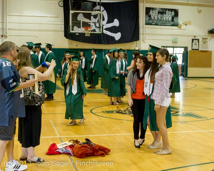 1896 Vashon Island High School Graduation 2013 061513