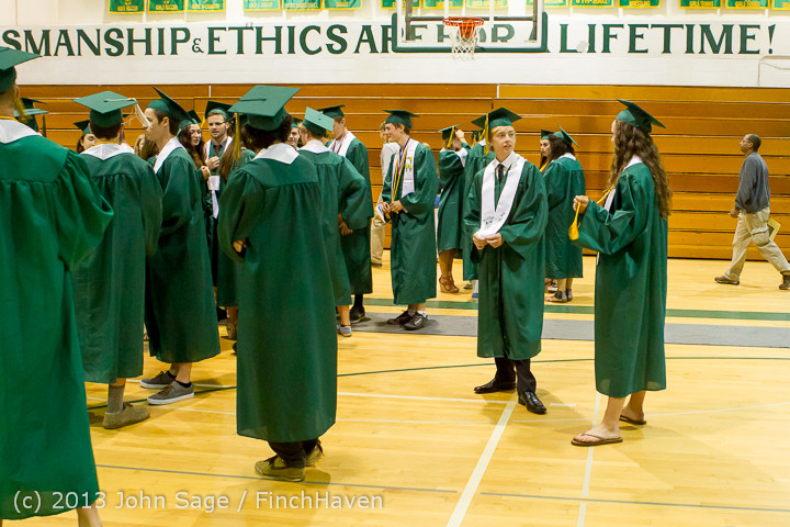 1898 Vashon Island High School Graduation 2013 061513