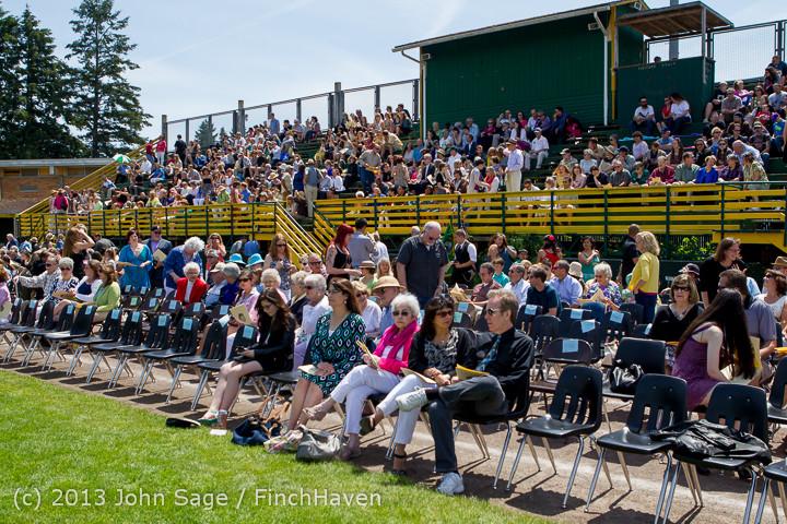 1912 Vashon Island High School Graduation 2013 061513