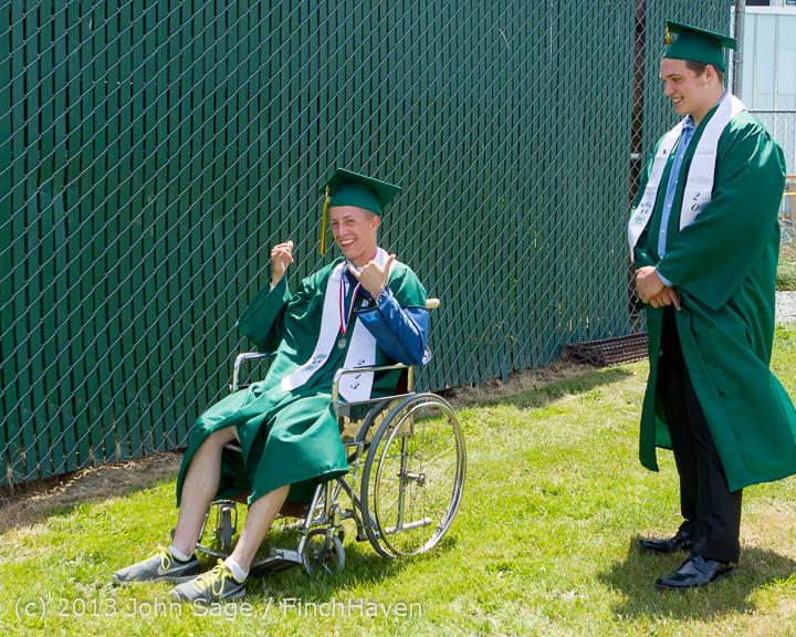 1915 Vashon Island High School Graduation 2013 061513