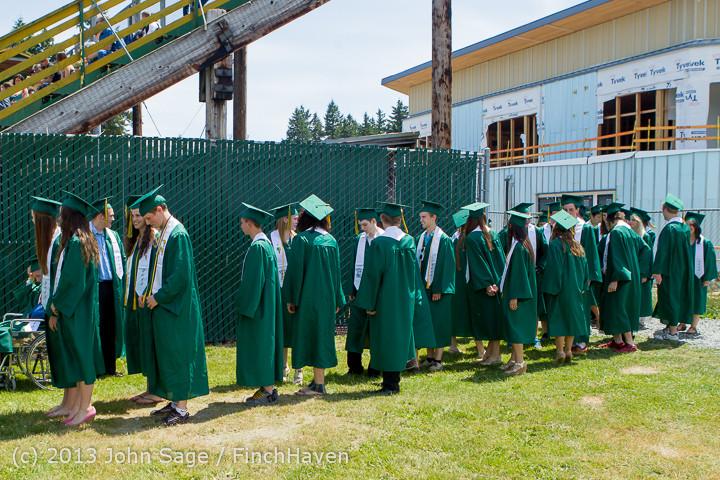 1917 Vashon Island High School Graduation 2013 061513