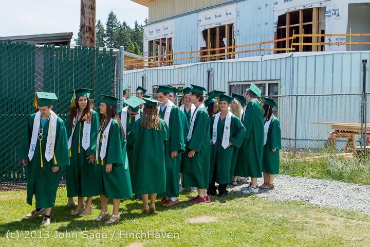 1918 Vashon Island High School Graduation 2013 061513