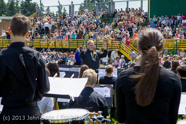 1925 Vashon Island High School Graduation 2013 061513