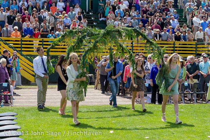 1947 Vashon Island High School Graduation 2013 061513