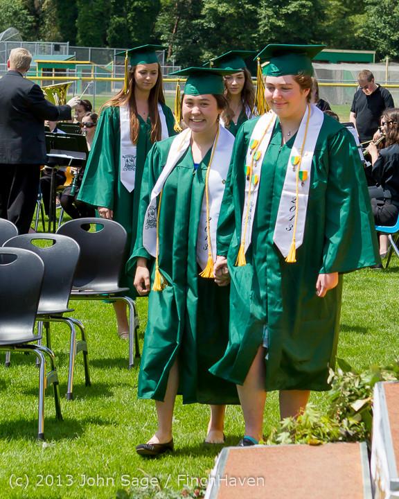 1960 Vashon Island High School Graduation 2013 061513