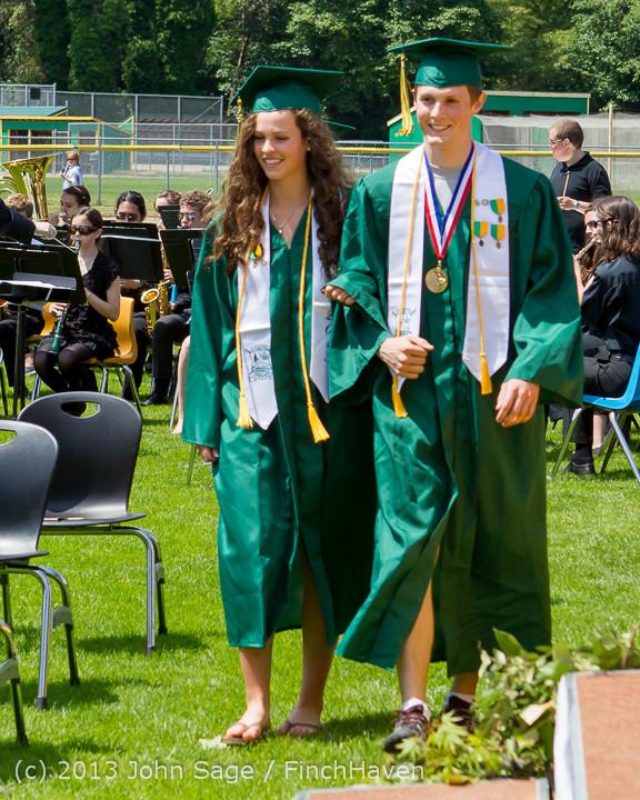 1965 Vashon Island High School Graduation 2013 061513