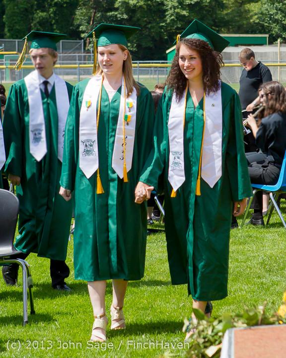 1970 Vashon Island High School Graduation 2013 061513