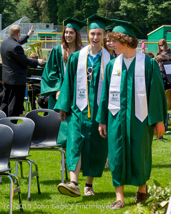 1975 Vashon Island High School Graduation 2013 061513