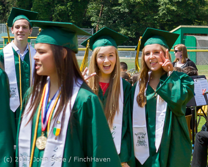1981 Vashon Island High School Graduation 2013 061513