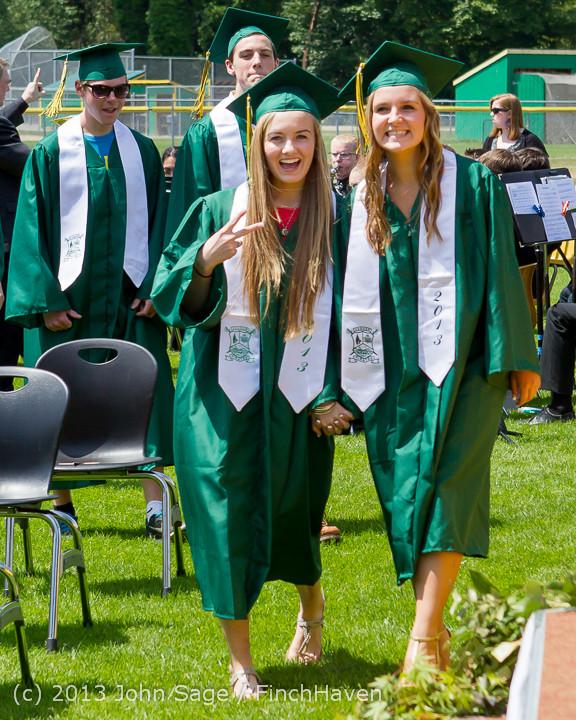 1983 Vashon Island High School Graduation 2013 061513