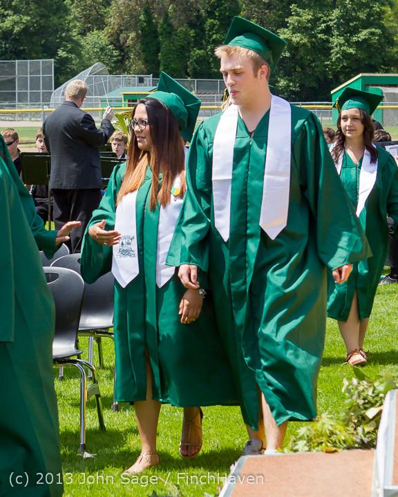 1999 Vashon Island High School Graduation 2013 061513
