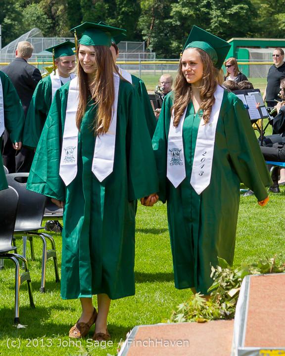 2007 Vashon Island High School Graduation 2013 061513