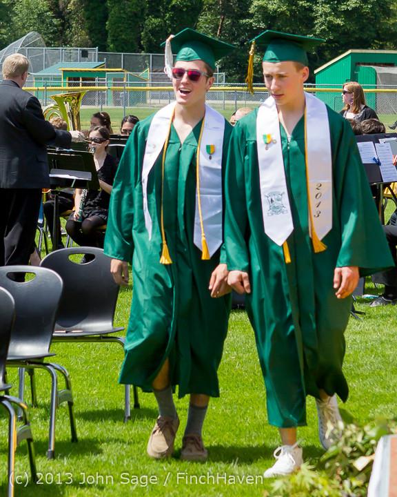 2016 Vashon Island High School Graduation 2013 061513