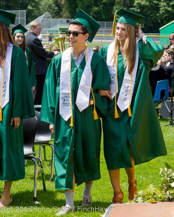 2026 Vashon Island High School Graduation 2013 061513