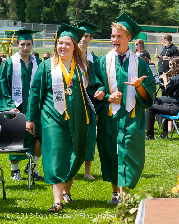 2049 Vashon Island High School Graduation 2013 061513