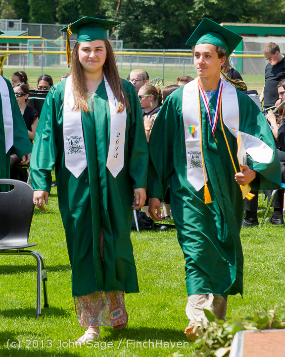 2055 Vashon Island High School Graduation 2013 061513
