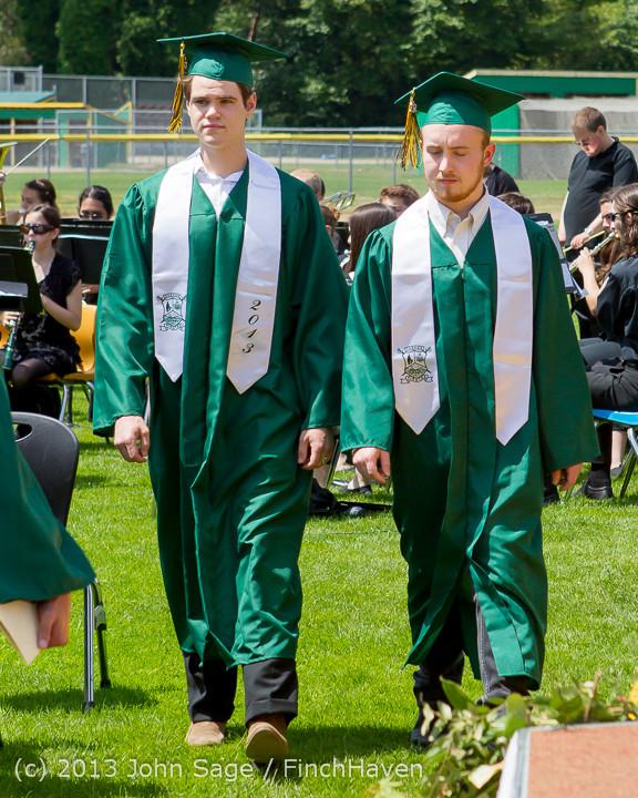 2056 Vashon Island High School Graduation 2013 061513