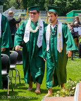 2085 Vashon Island High School Graduation 2013 061513