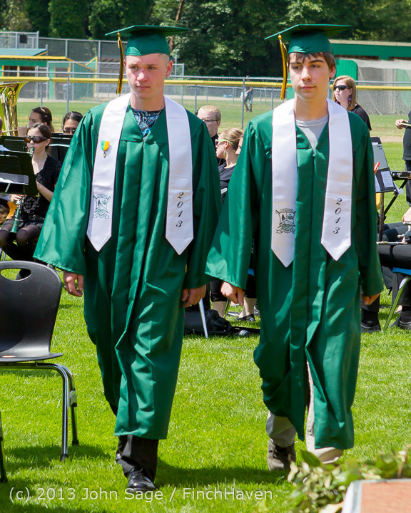 2100 Vashon Island High School Graduation 2013 061513