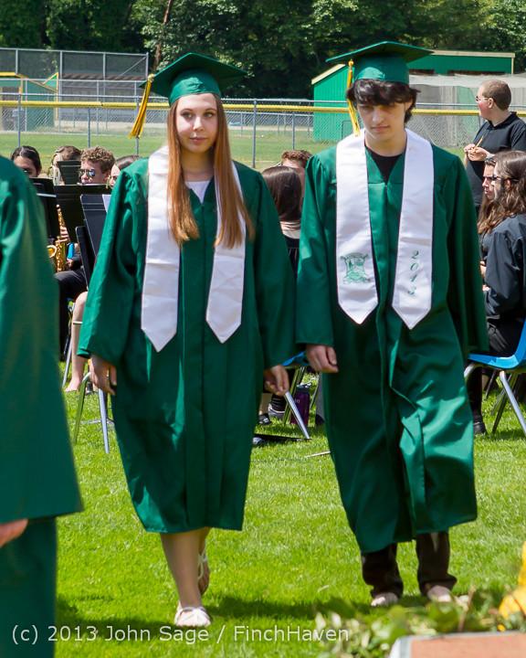 2102 Vashon Island High School Graduation 2013 061513