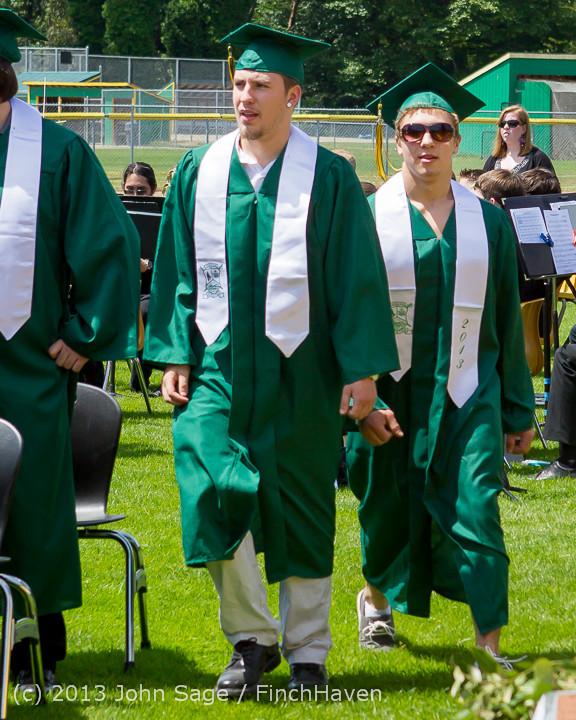 2112 Vashon Island High School Graduation 2013 061513