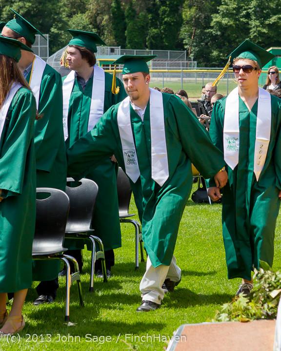 2113 Vashon Island High School Graduation 2013 061513