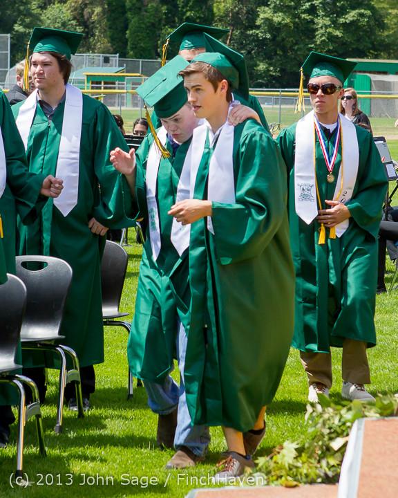 2120 Vashon Island High School Graduation 2013 061513