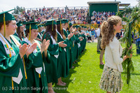 2134 Vashon Island High School Graduation 2013 061513