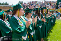 2135 Vashon Island High School Graduation 2013 061513