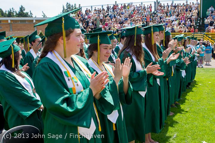 2135 Vashon Island High School Graduation 2013 061513