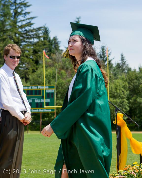 2136 Vashon Island High School Graduation 2013 061513