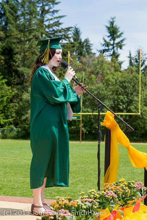 2139 Vashon Island High School Graduation 2013 061513