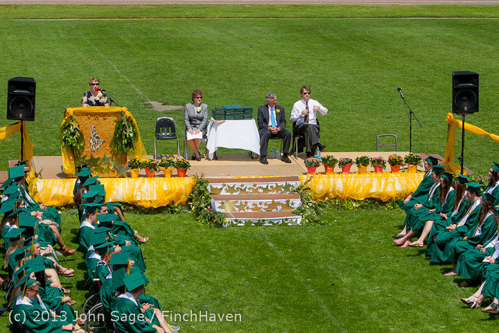 2169 Vashon Island High School Graduation 2013 061513