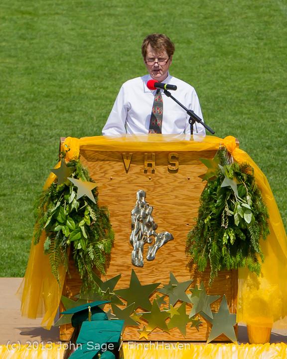 2182 Vashon Island High School Graduation 2013 061513