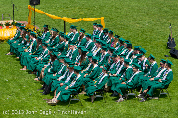 2210 Vashon Island High School Graduation 2013 061513