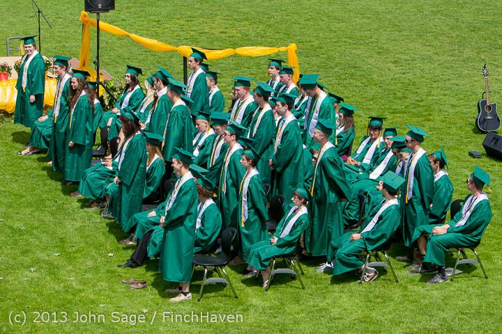 2230 Vashon Island High School Graduation 2013 061513
