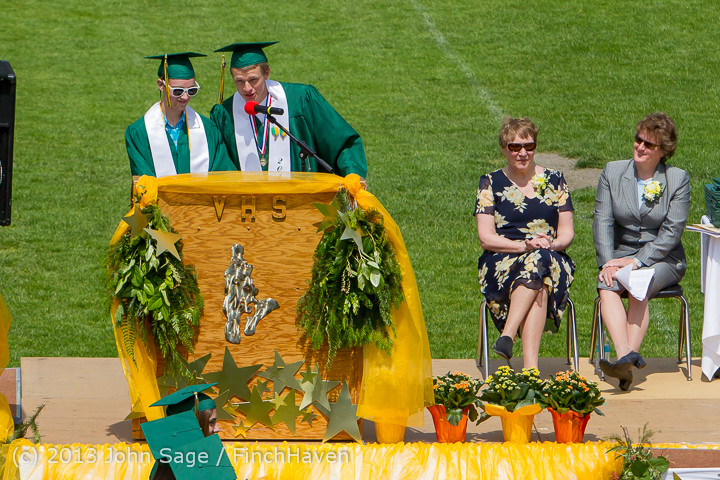 2272 Vashon Island High School Graduation 2013 061513