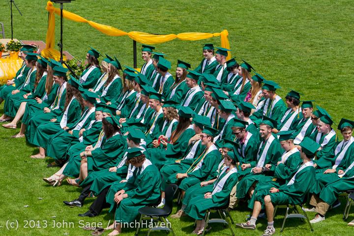 2281 Vashon Island High School Graduation 2013 061513