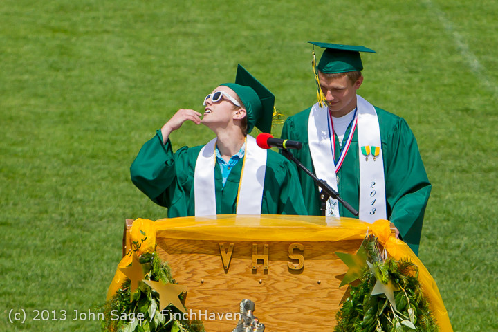 2284 Vashon Island High School Graduation 2013 061513
