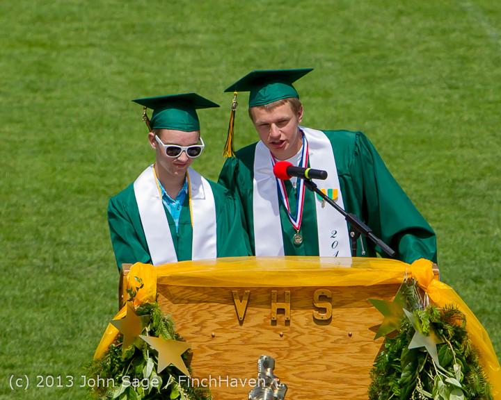 2291 Vashon Island High School Graduation 2013 061513
