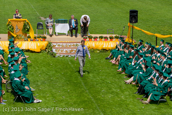 2413 Vashon Island High School Graduation 2013 061513