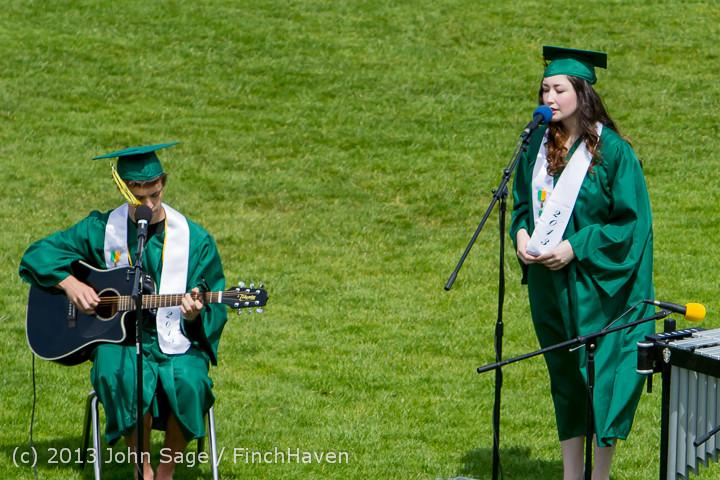 2430 Vashon Island High School Graduation 2013 061513