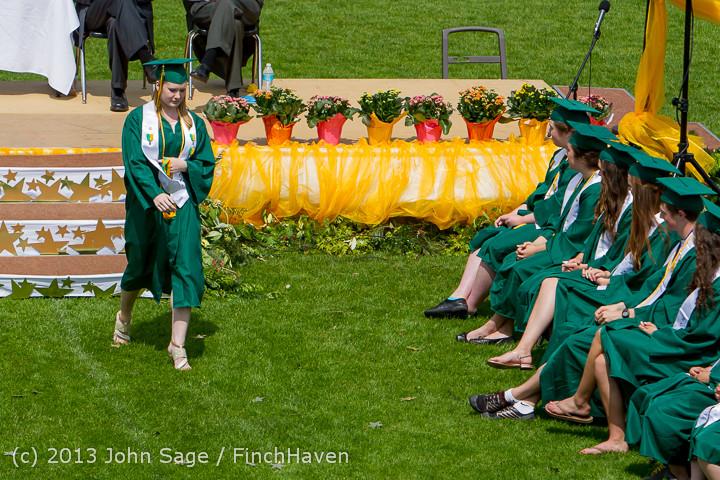 2521 Vashon Island High School Graduation 2013 061513